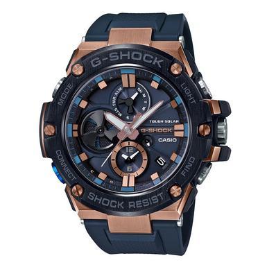 Casio G-Shock G-Steel Bluetooth Rose Gold Plated Chronograph Men's Watch