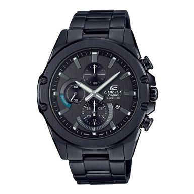 Casio Edifice Black Ion Plated Chronograph Men's Watch