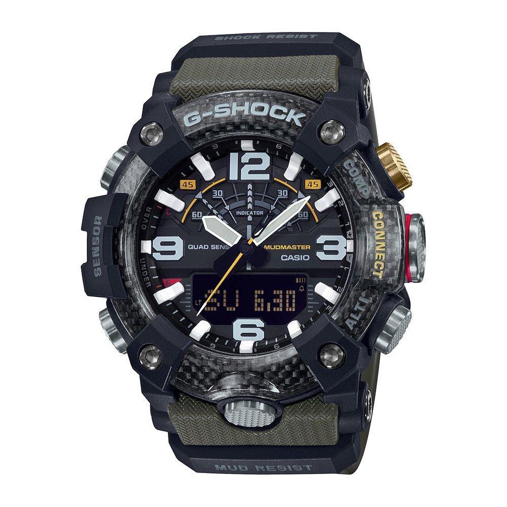Casio Mudmaster Black Resin Bluetooth Men's Watch