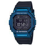 Casio G-Shock Full Metal Bluetooth Blue Ion Plated Men's Watch