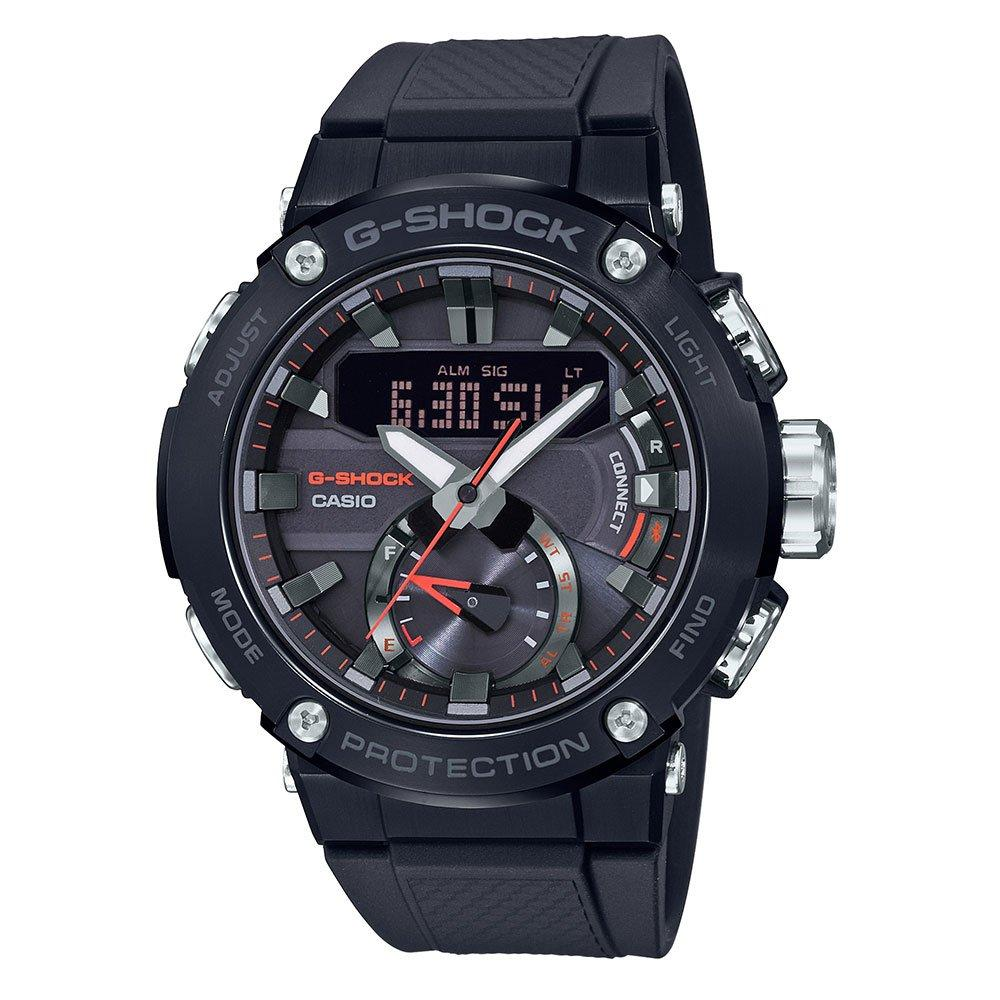 Casio G-Shock G-Steel Bluetooth Black Ion Plated Chronograph Men's Watch