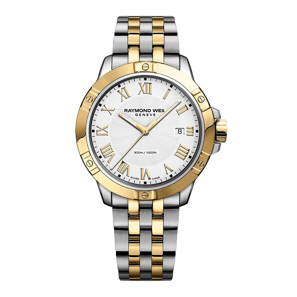 Raymond Weil Tango Classic Stainless Steel and Gold Plated Men's Watch