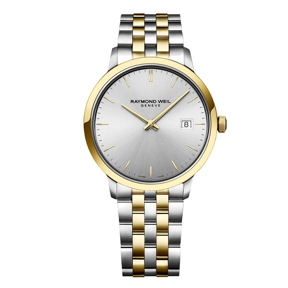 Raymond Weil Toccata Gold Plated And Stainless Steel Men's Watch