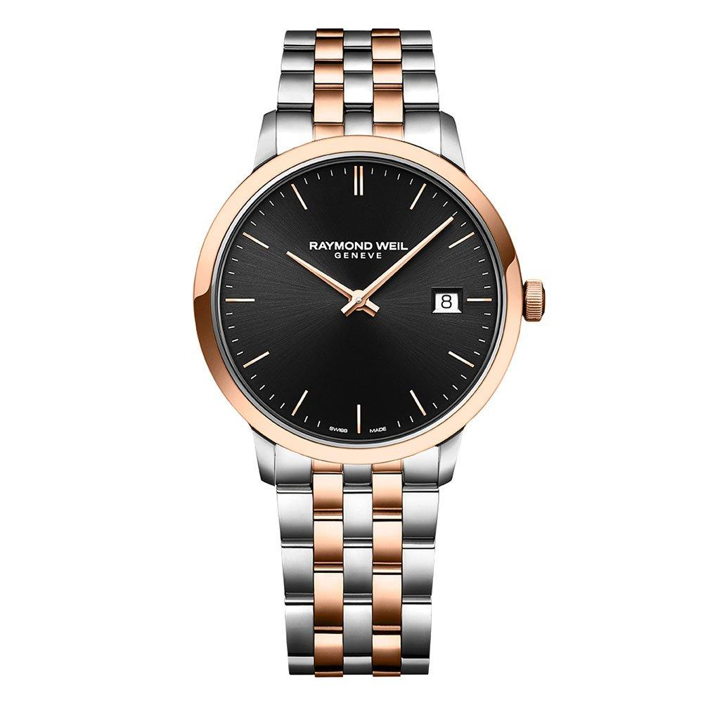 Raymond Weil Toccata Rose Gold Plated And Stainless Steel Men's Watch