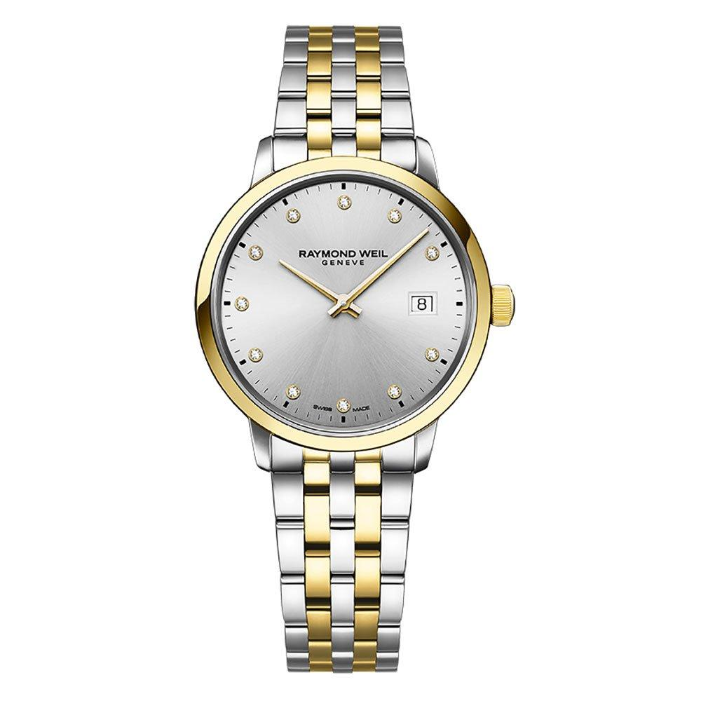 Raymond Weil Toccata Gold Plated And Stainless Steel Ladies Watch
