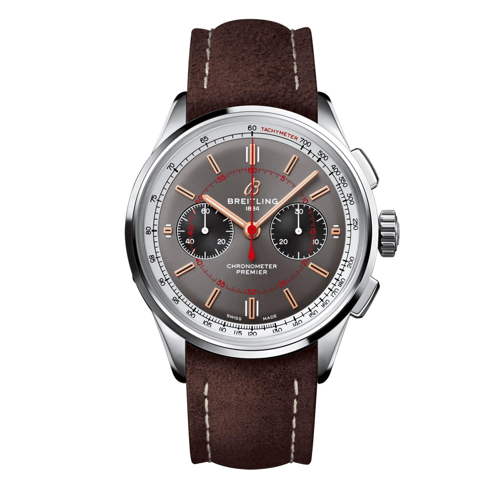 Breitling Premier B01 Chronograph 42 Wheels And Waves Limited Edition Men's Watch
