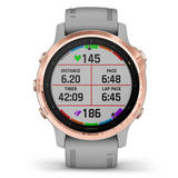 Garmin Fenix 6S Sapphire Edition Rose Gold Tone Watch