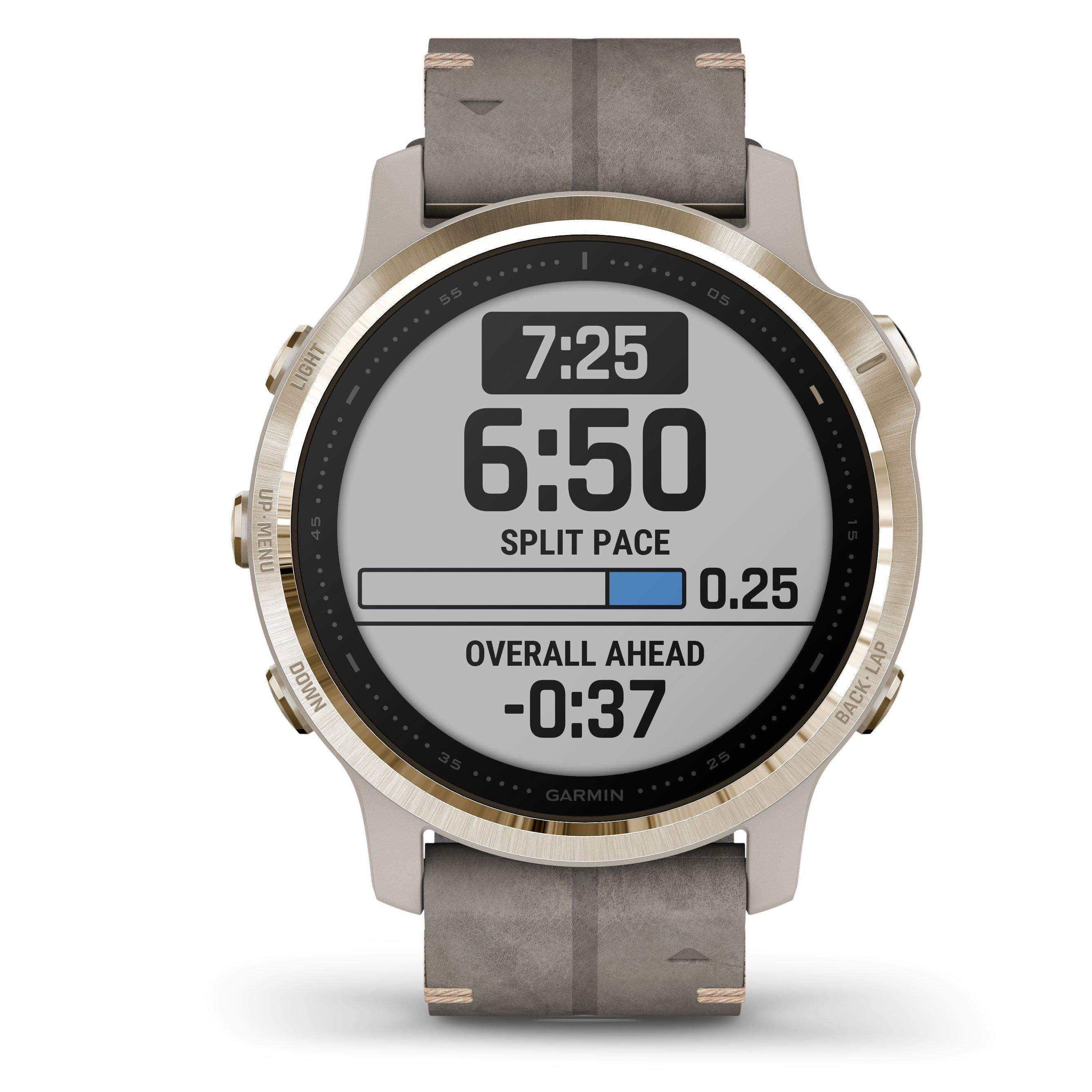 Garmin Fenix 6S Gold Tone Sapphire Edition Watch