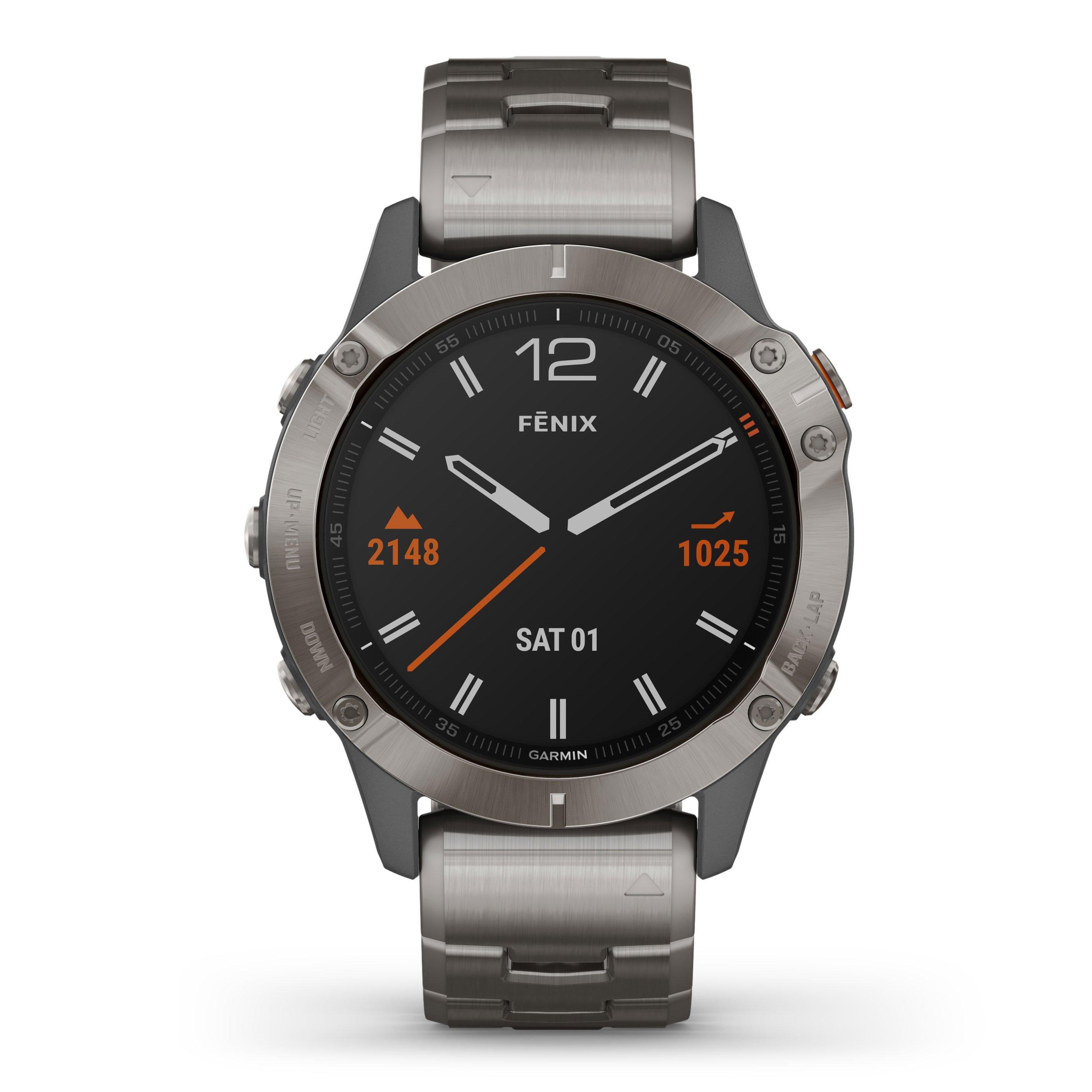 Garmin Fenix 6 Sapphire Edition Watch