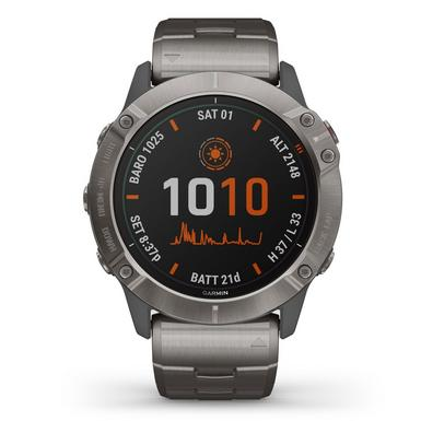 Garmin Fenix 6X Titanium Pro Solar Edition Watch