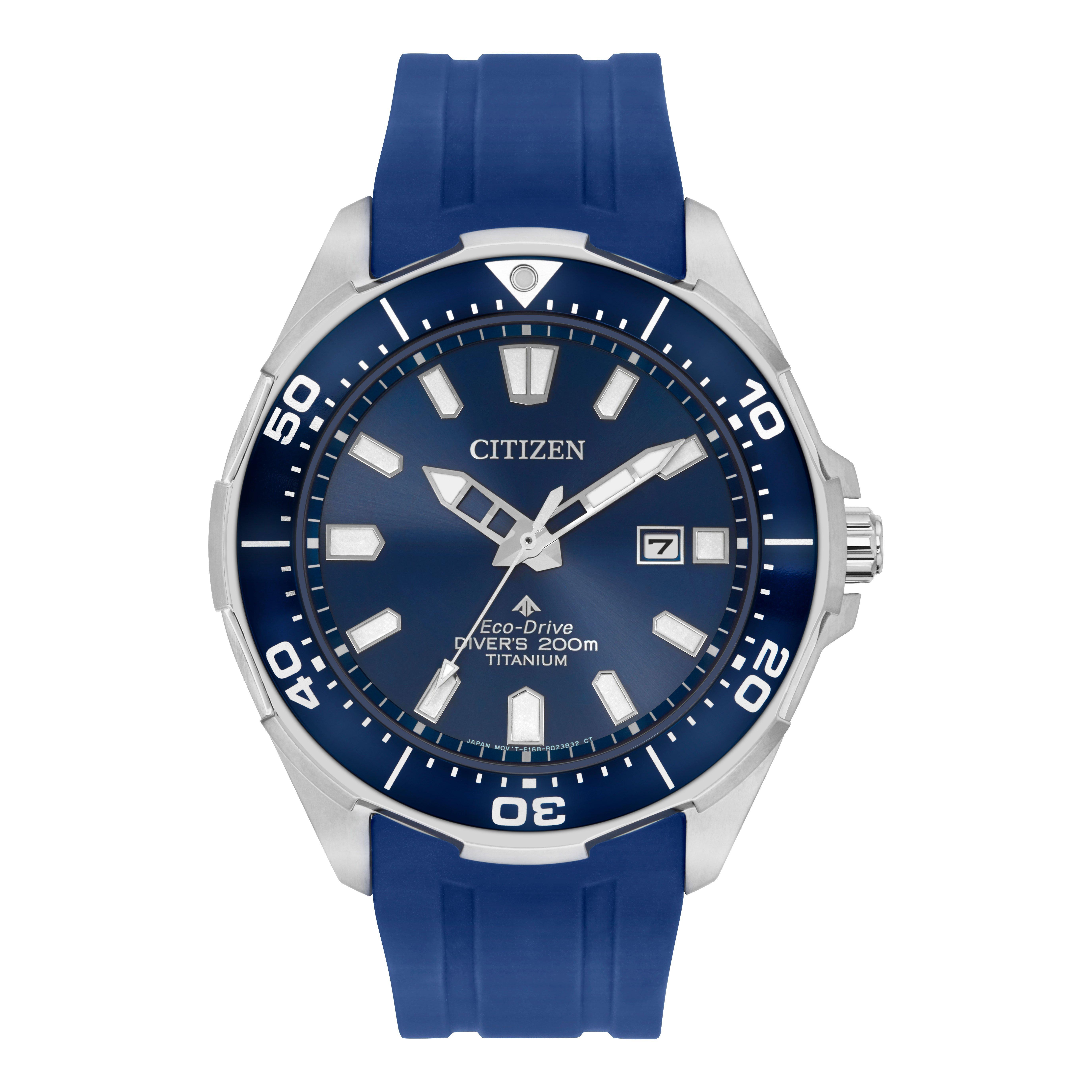 Citizen Eco-Drive Promaster Diver Titanium Men's Watch