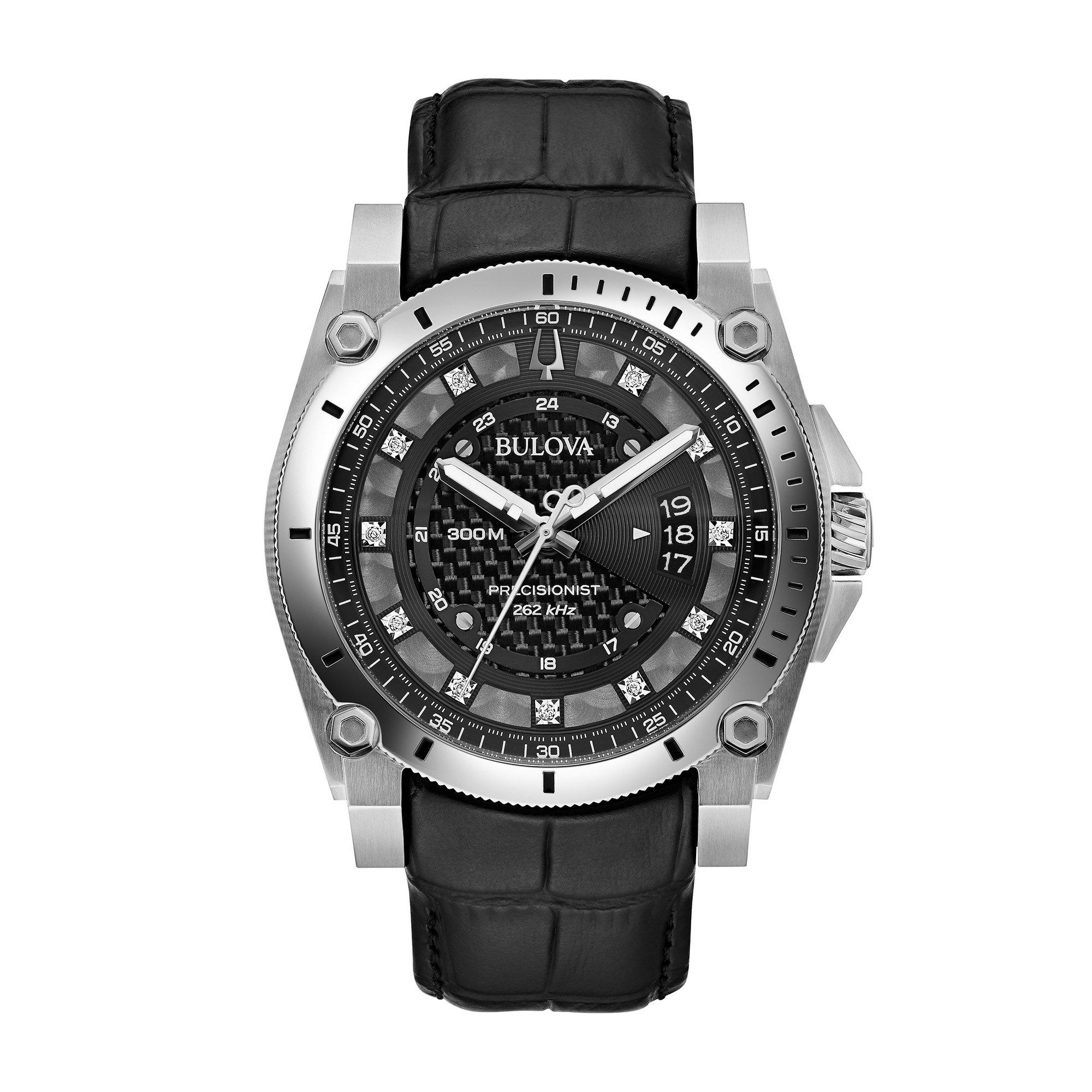 Bulova Precisionist Diamond Men's Watch