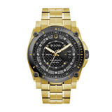 Bulova Precisionist Gold Tone Diamond Men's Watch