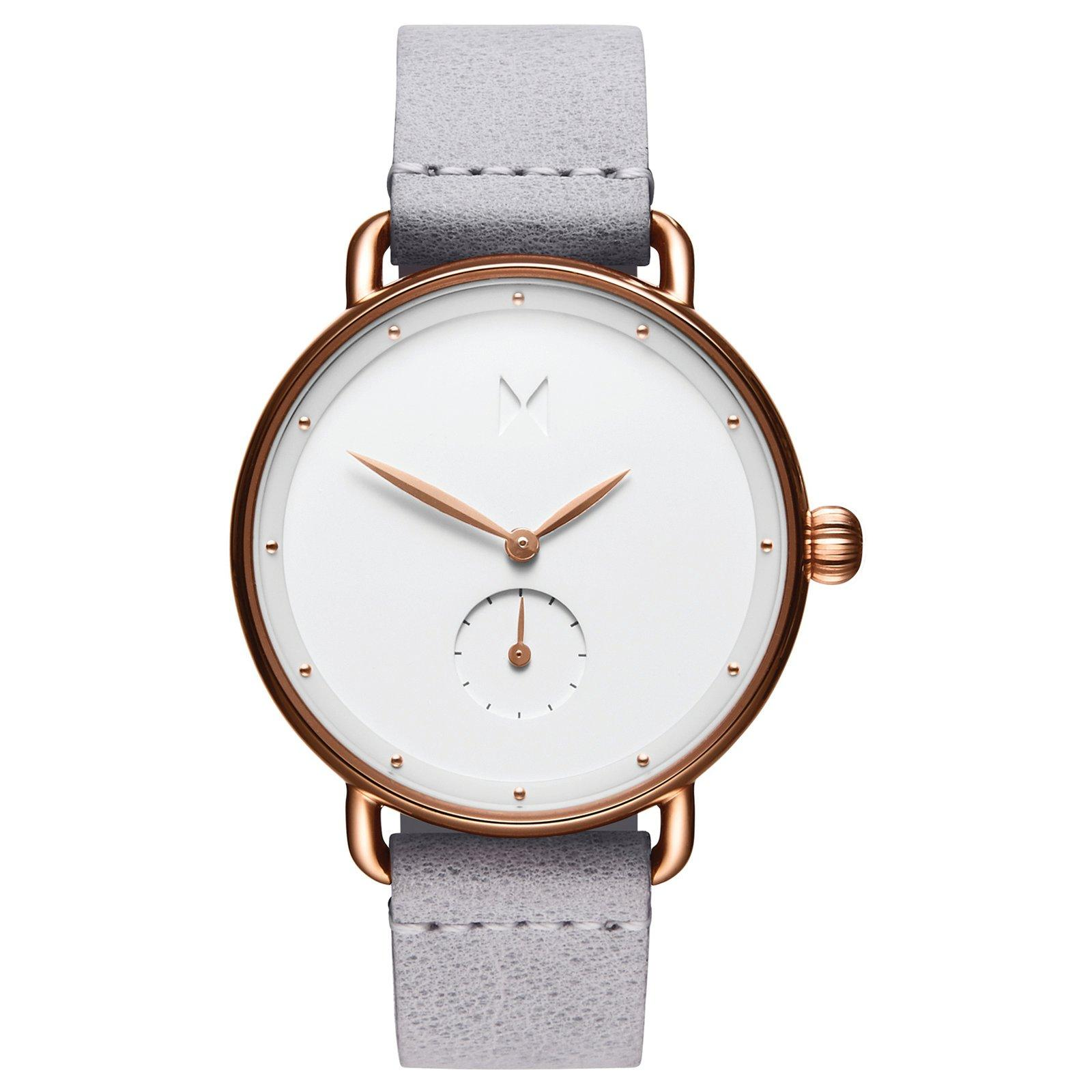 MVMT Bloom Rose Gold Plated Ghost Iris Ladies Watch