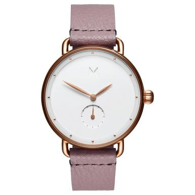 MVMT Bloom Rose Gold Plated Gilded Lilac Ladies Watch