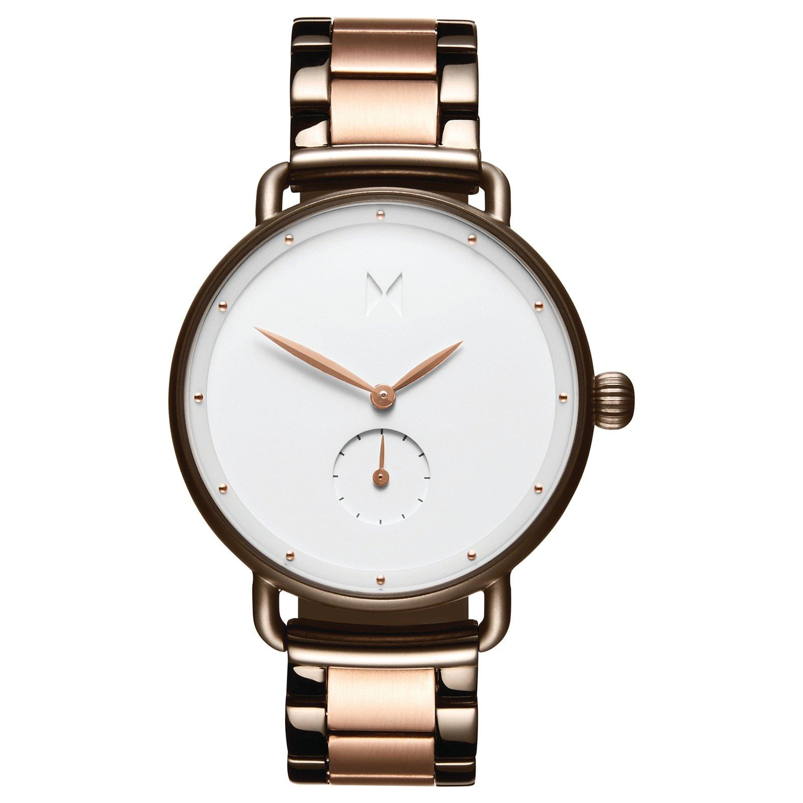 MVMT Bloom Gunmetal And Rose Gold Plated Ladies Watch