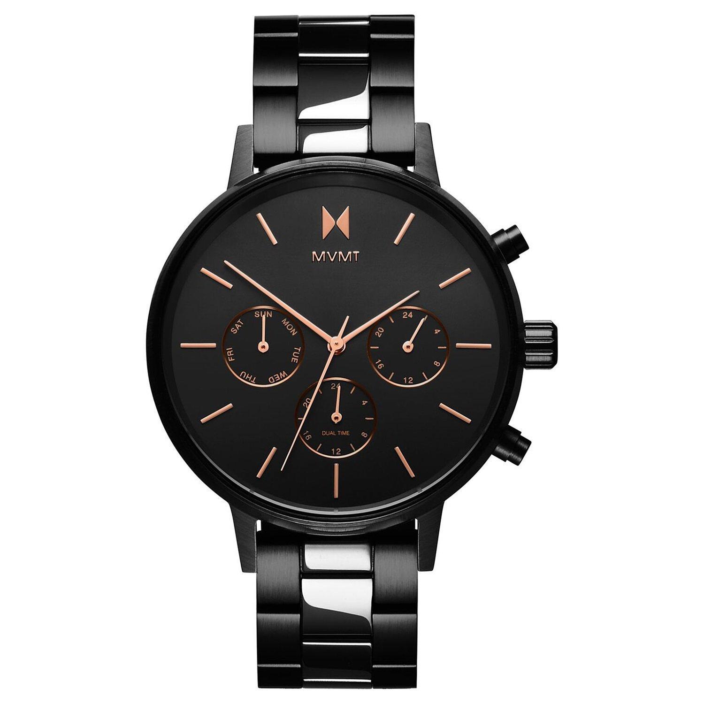 MVMT Nova Black Ion Plated Chronograph Ladies Watch
