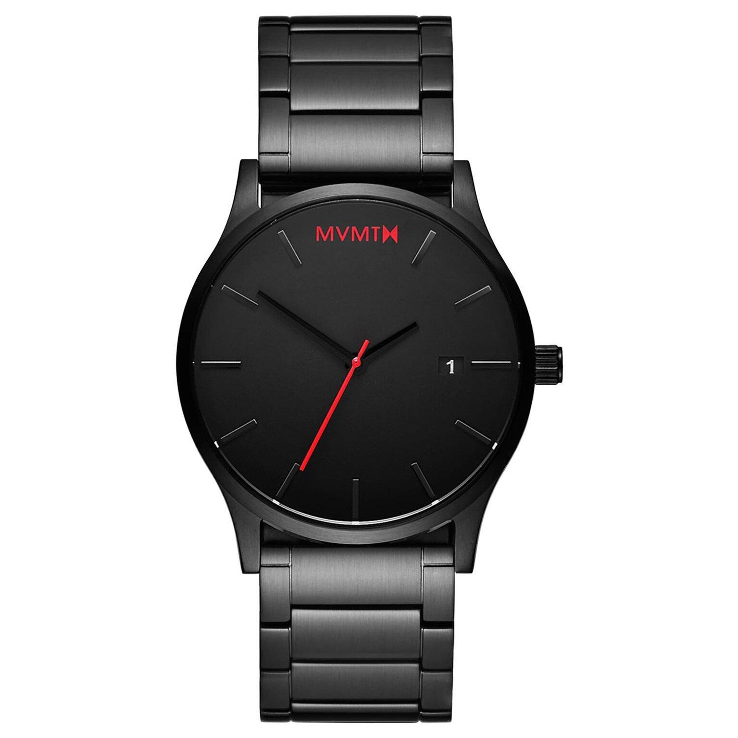MVMT Classic Black Ion Plated Men's Watch
