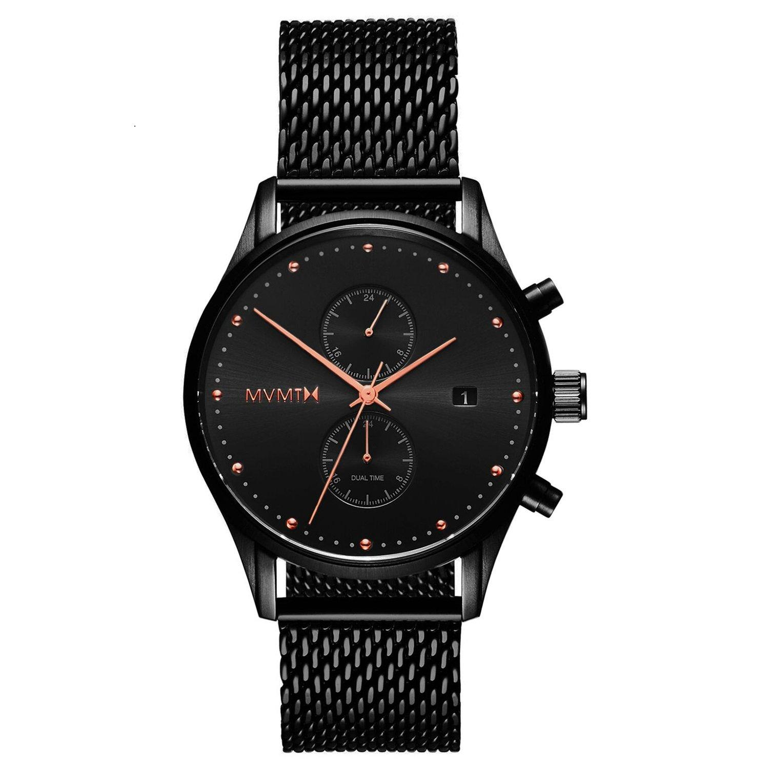 MVMT Voyager Black Ion Plated Chronograph Men's Watch