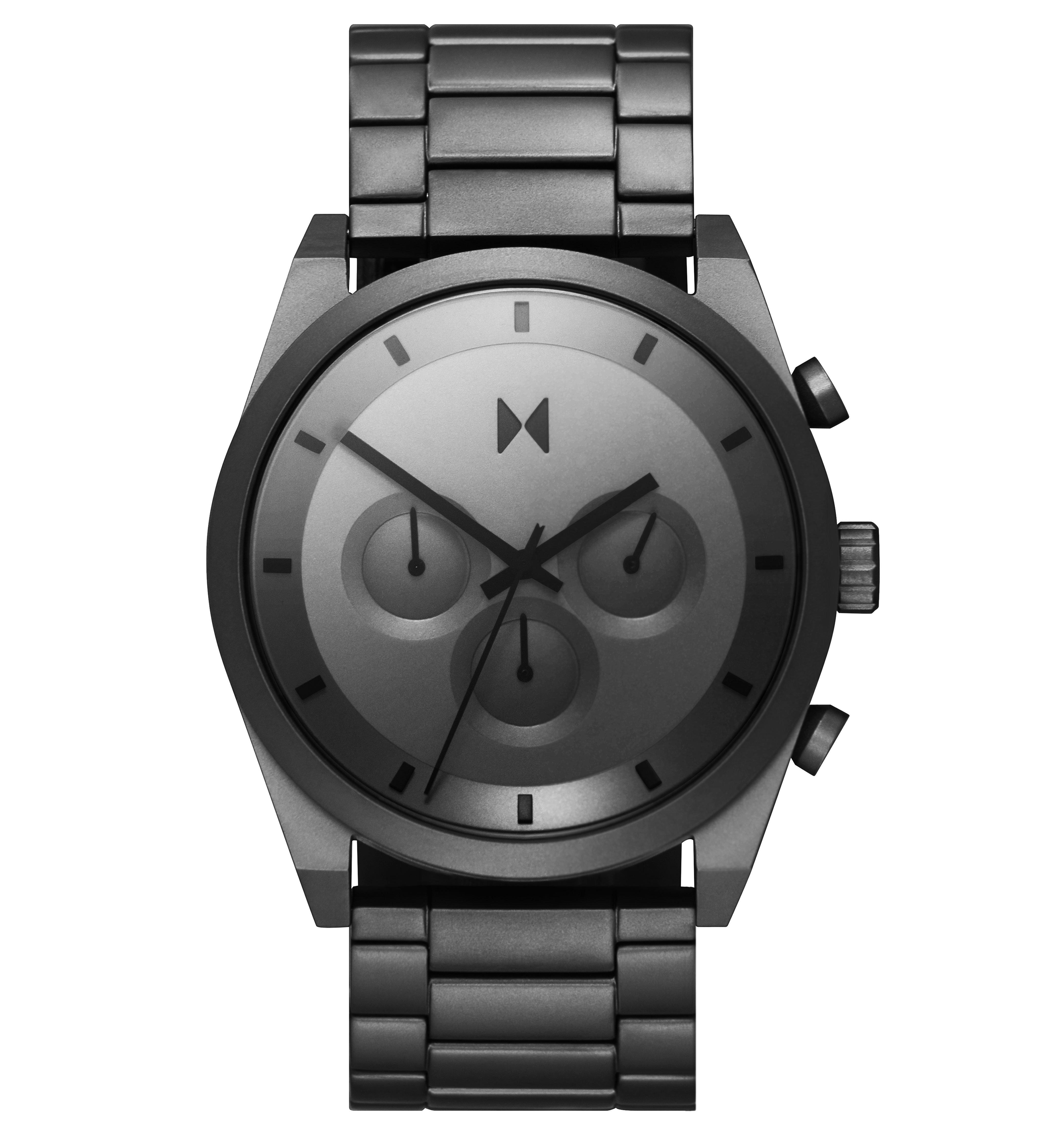 MVMT Element Grey Ion Plated Chronograph Men's Watch