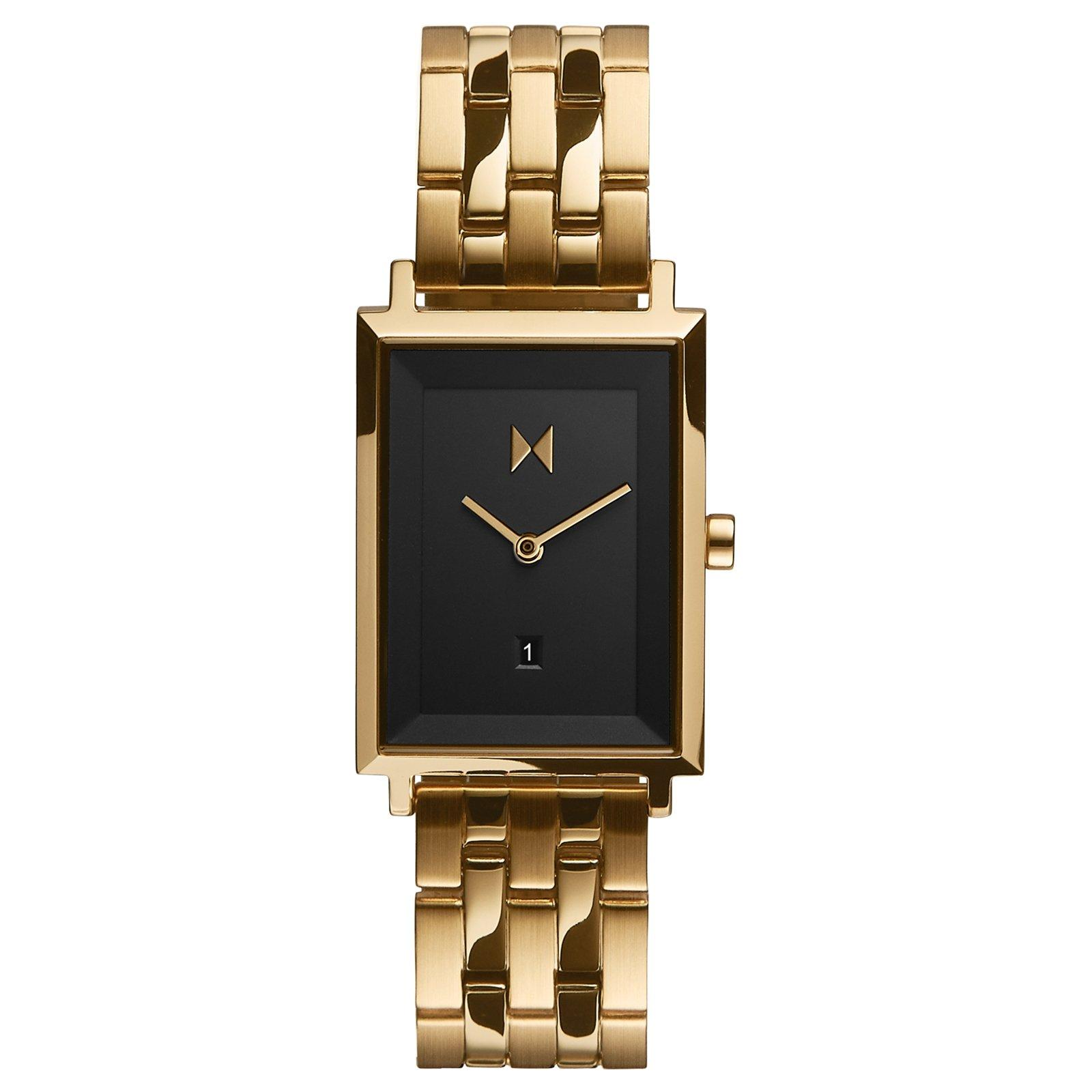 MVMT Signature Square Gold Plated Ladies Watch