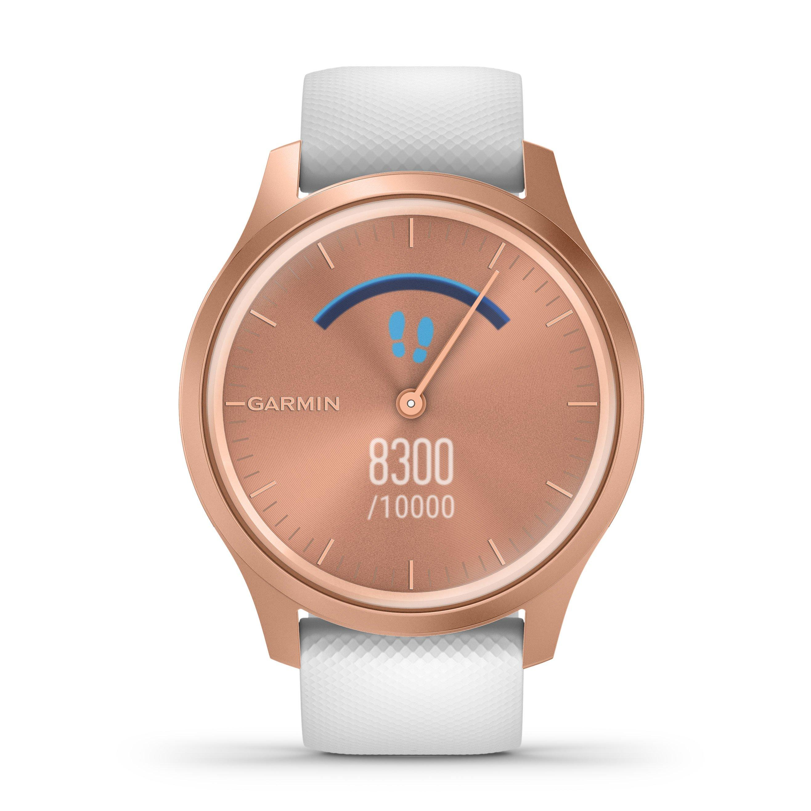 Garmin Vivomove Style Rose Gold Plated Smartwatch