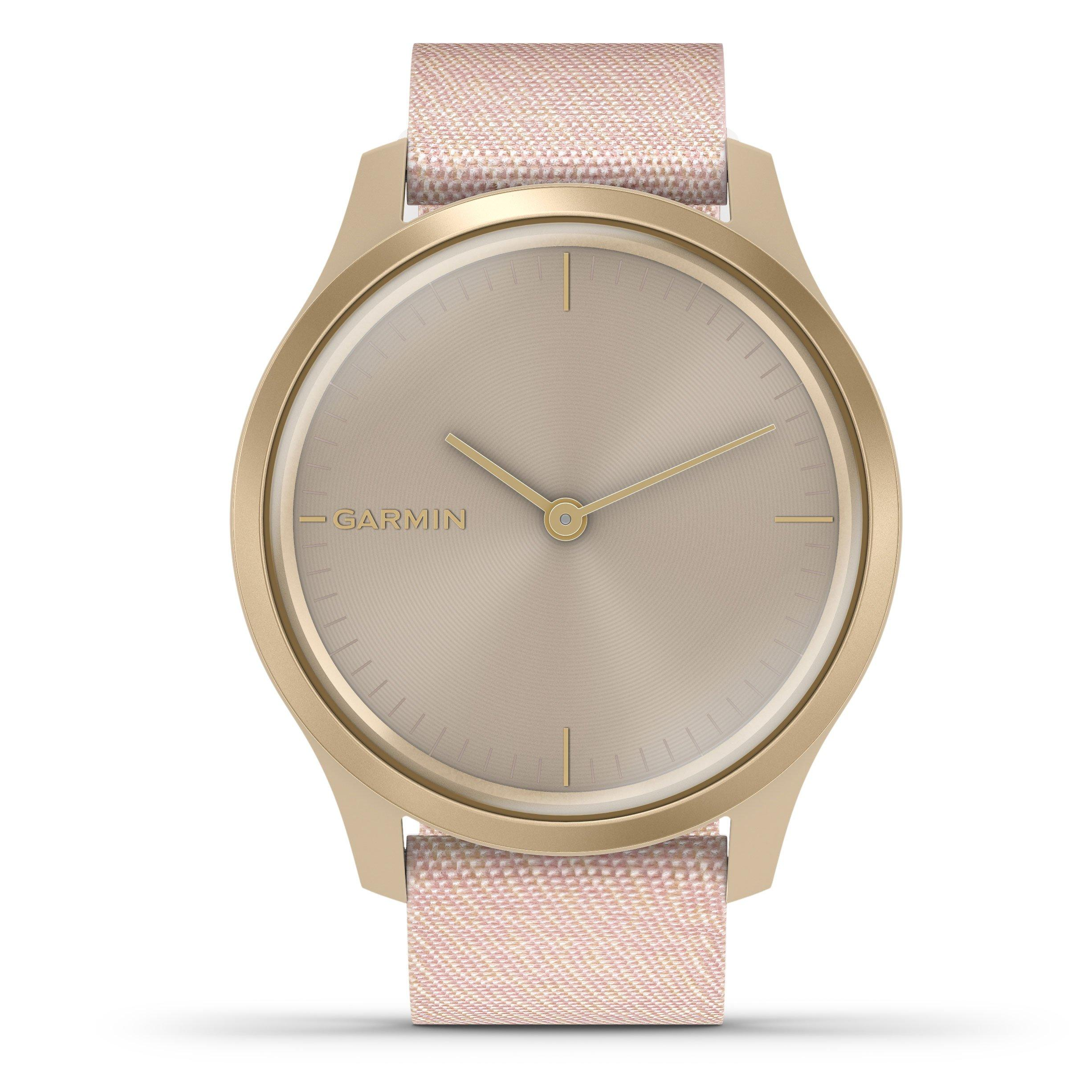 Garmin Vivomove Style Gold Plated Smartwatch