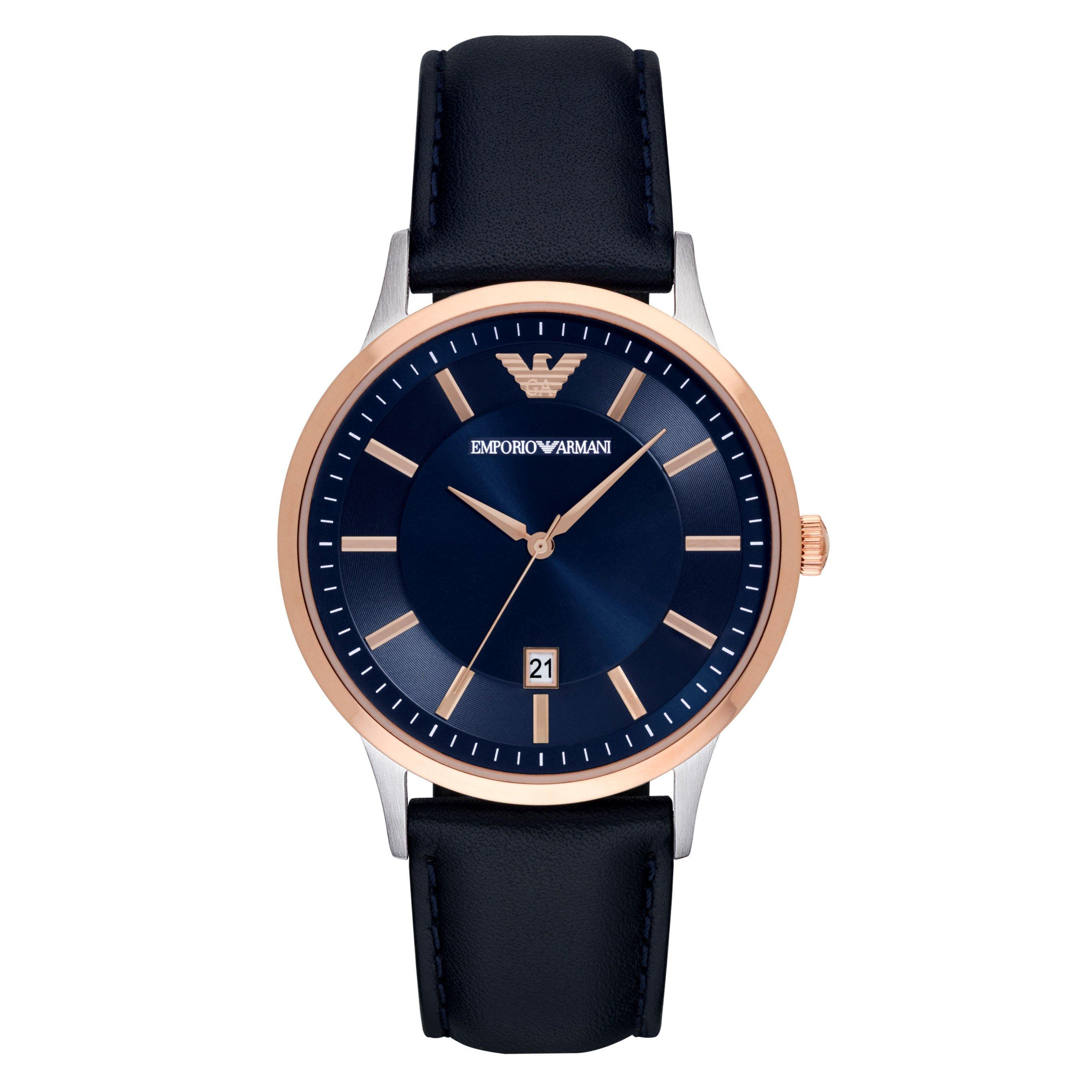 Emporio Armani Rose Gold Plated Men's Watch