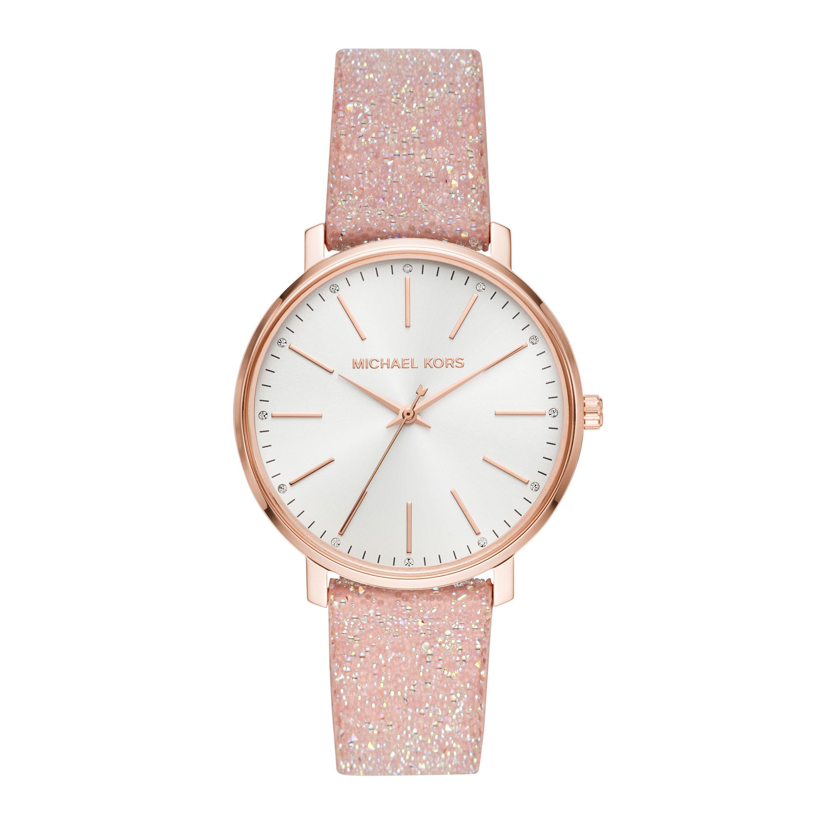 Michael Kors Pyper Glitz Rose Gold Plated Ladies Watch
