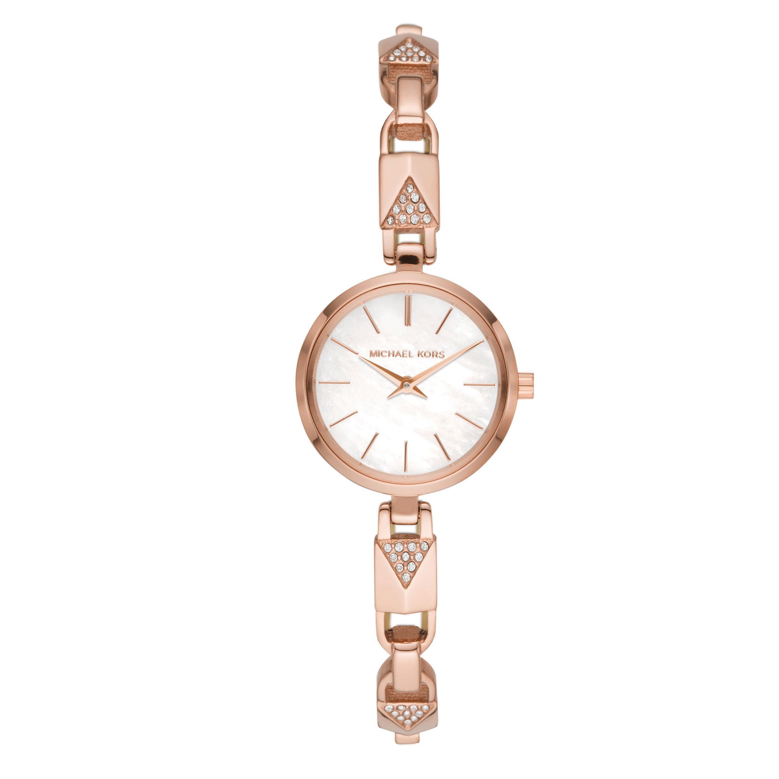 Michael Kors Jayrn Mercer Rose Gold Plated Ladies Watch