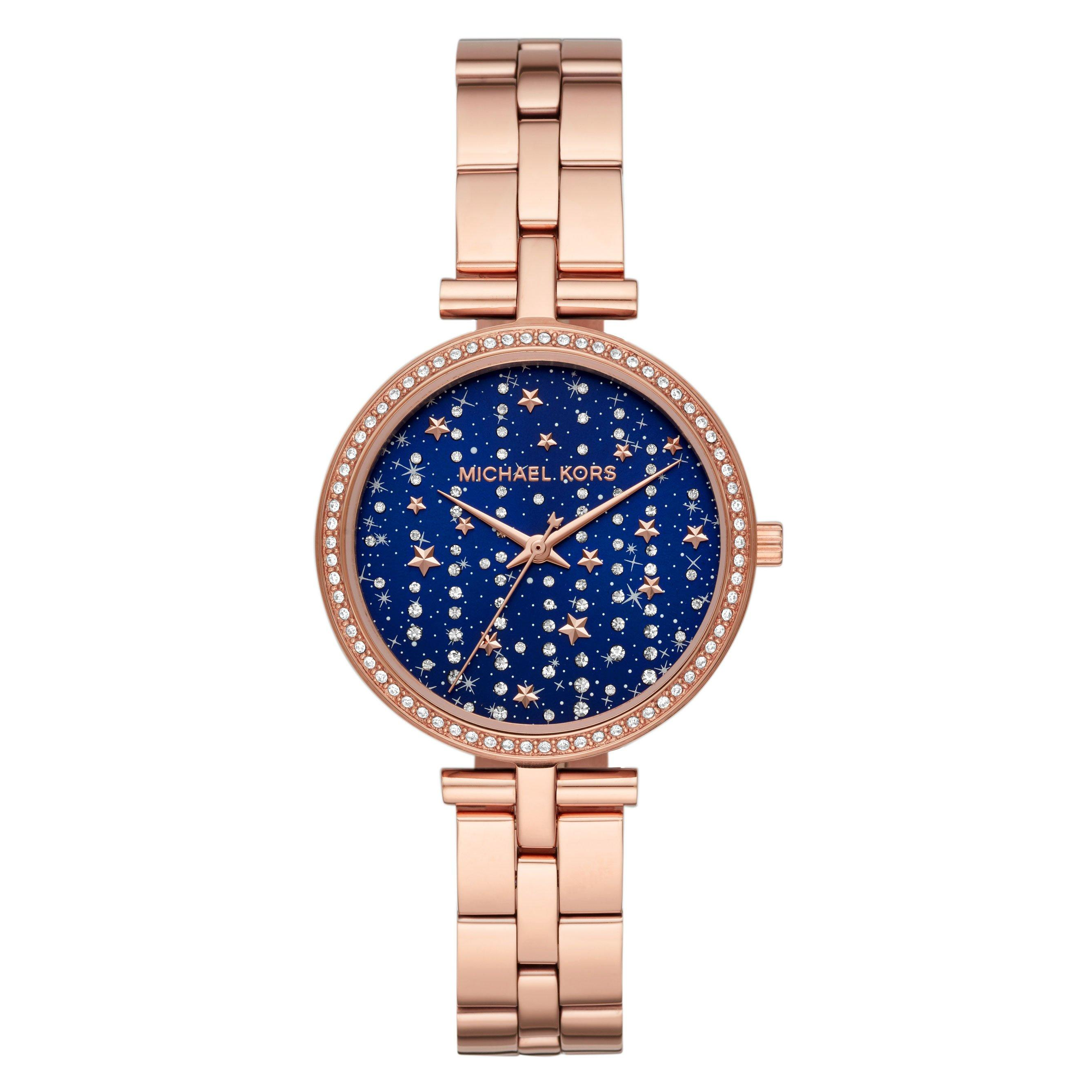 Michael Kors Maci Rose Gold Plated Ladies Watch