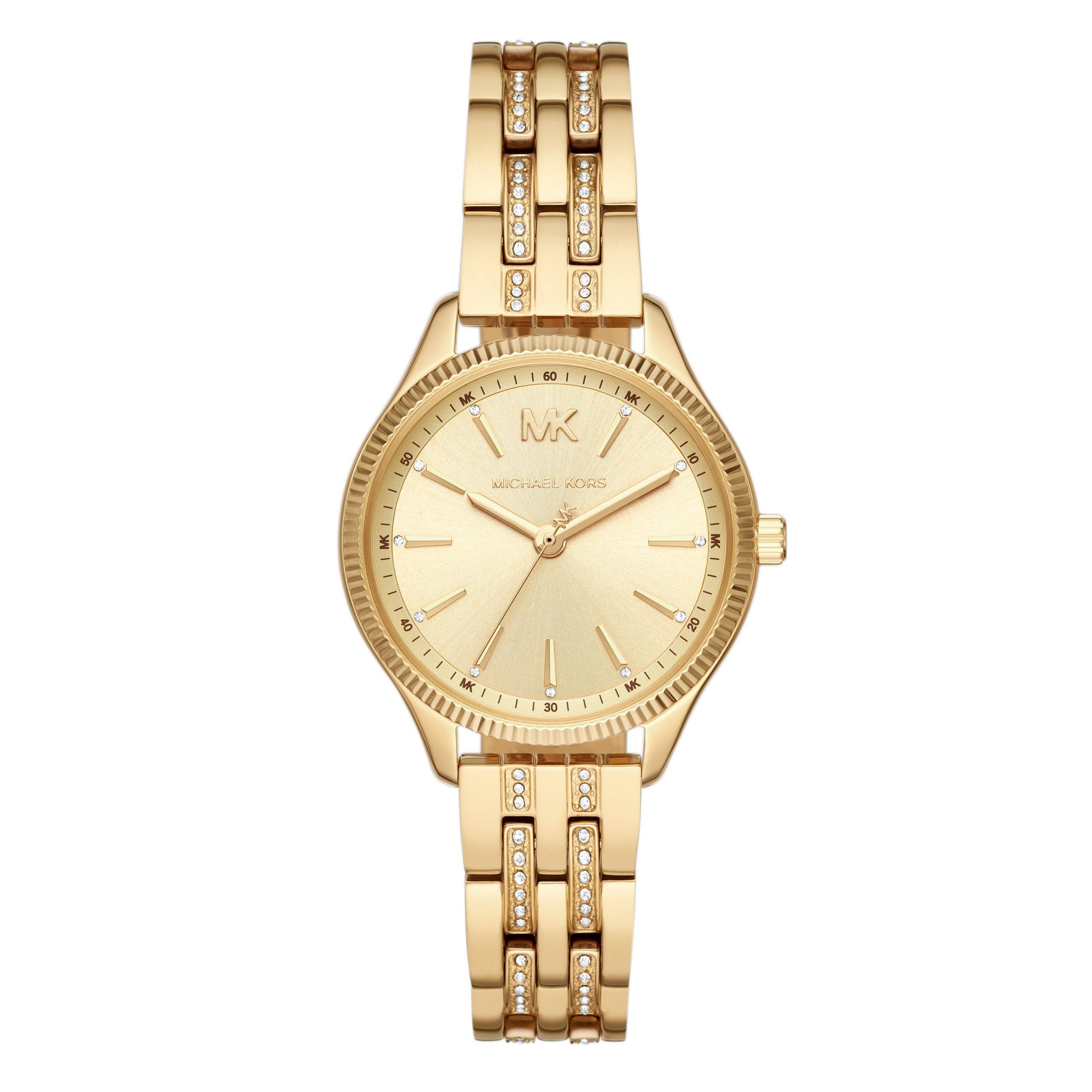 Michael Kors Lexington Gold Plated Ladies Watch