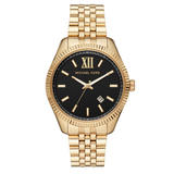 Michael Kors Lexington Gold Plated Men's Watch