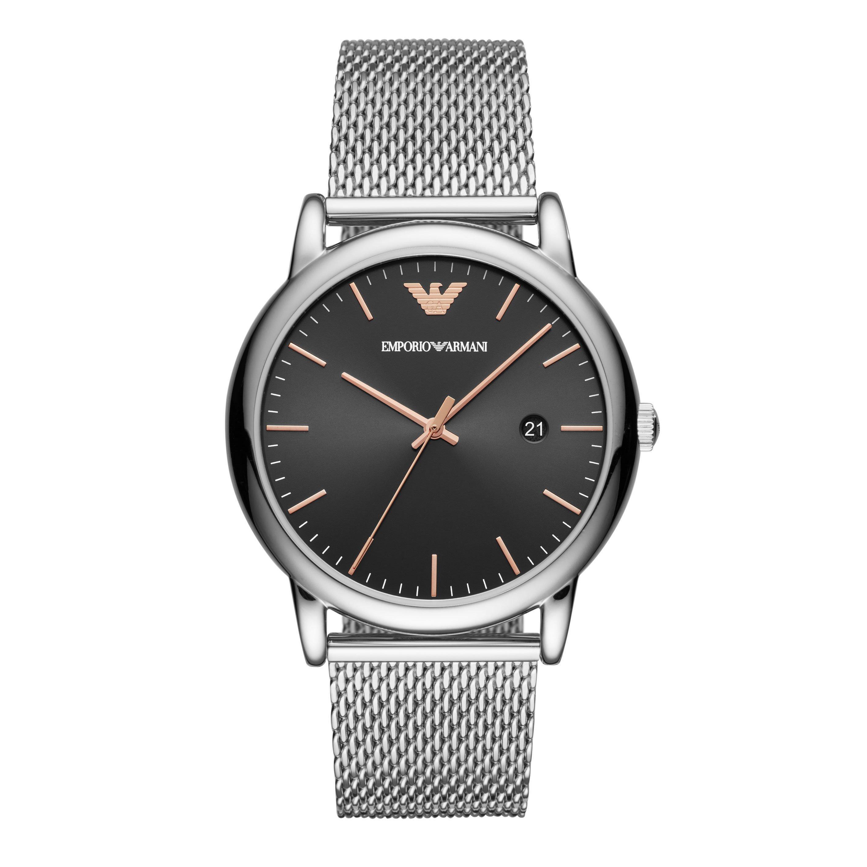 Emporio Armani Mesh Men's Watch