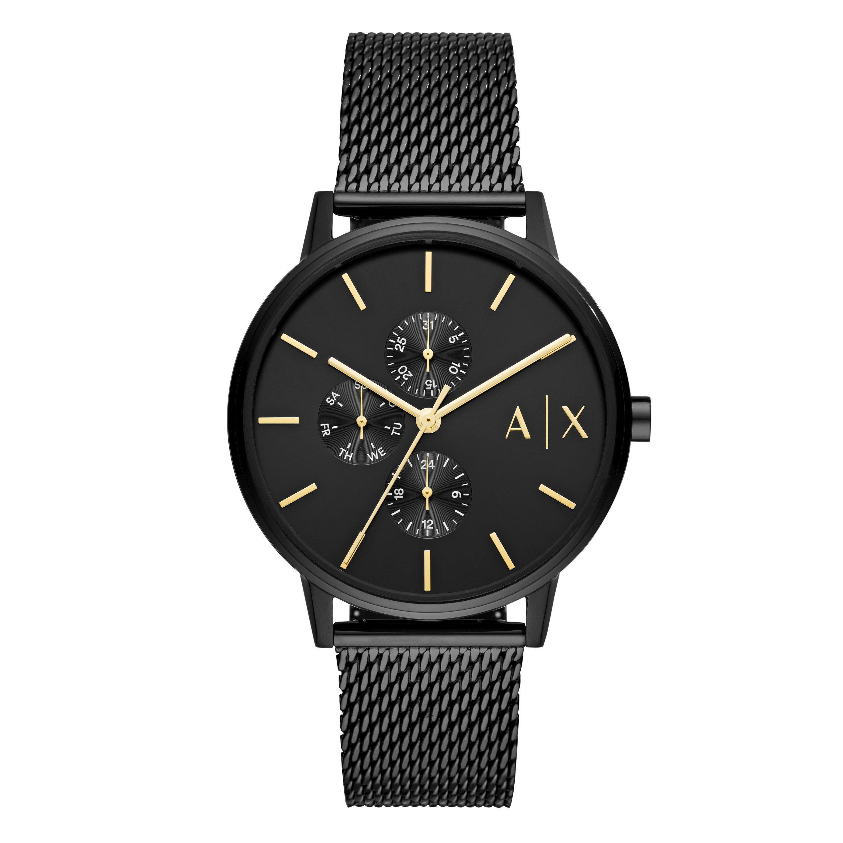 Armani Exchange Black Men's Watch