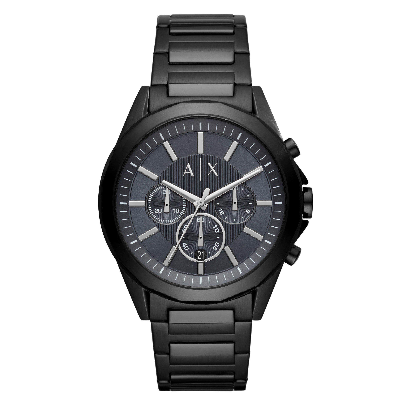 Armani Exchange Black Chronograph Men's Watch