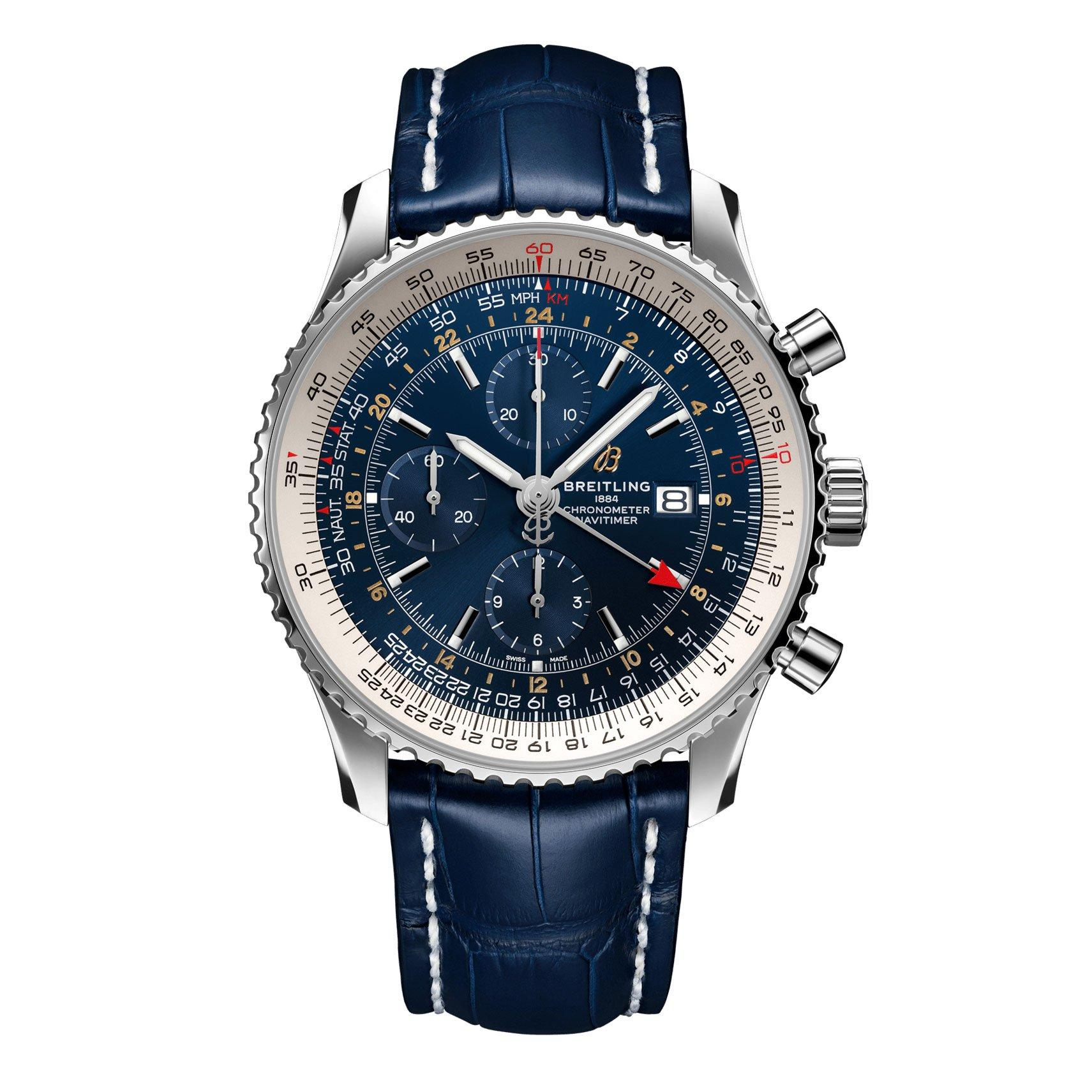 Breitling Navitimer Chronograph GMT 46 Automatic Men's Watch