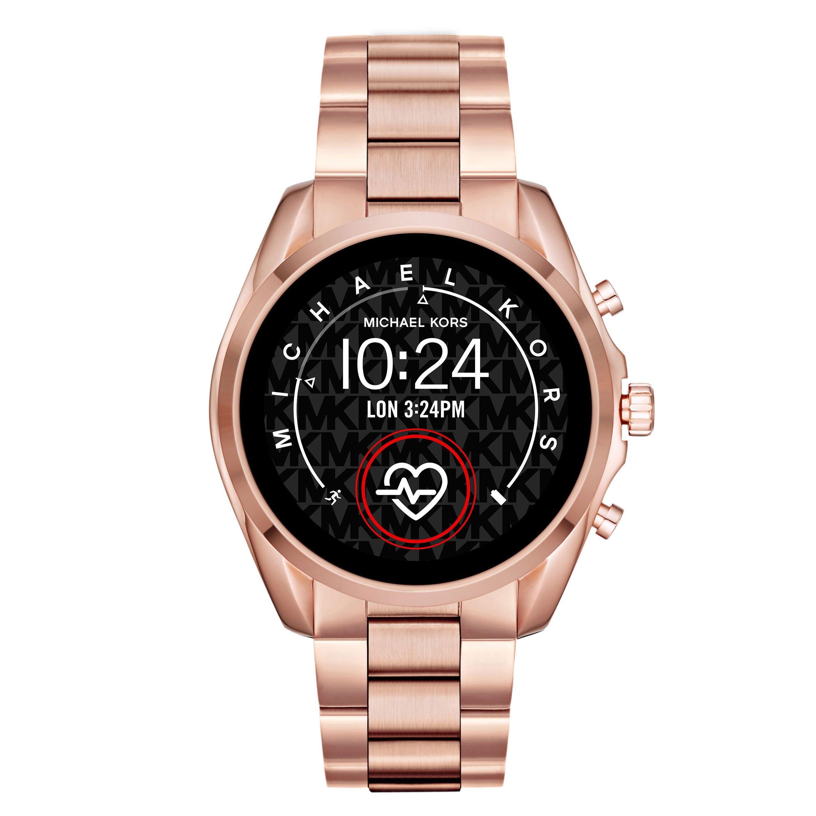 Michael Kors Access Bradshaw Rose Gold Plated Ladies Smartwatch