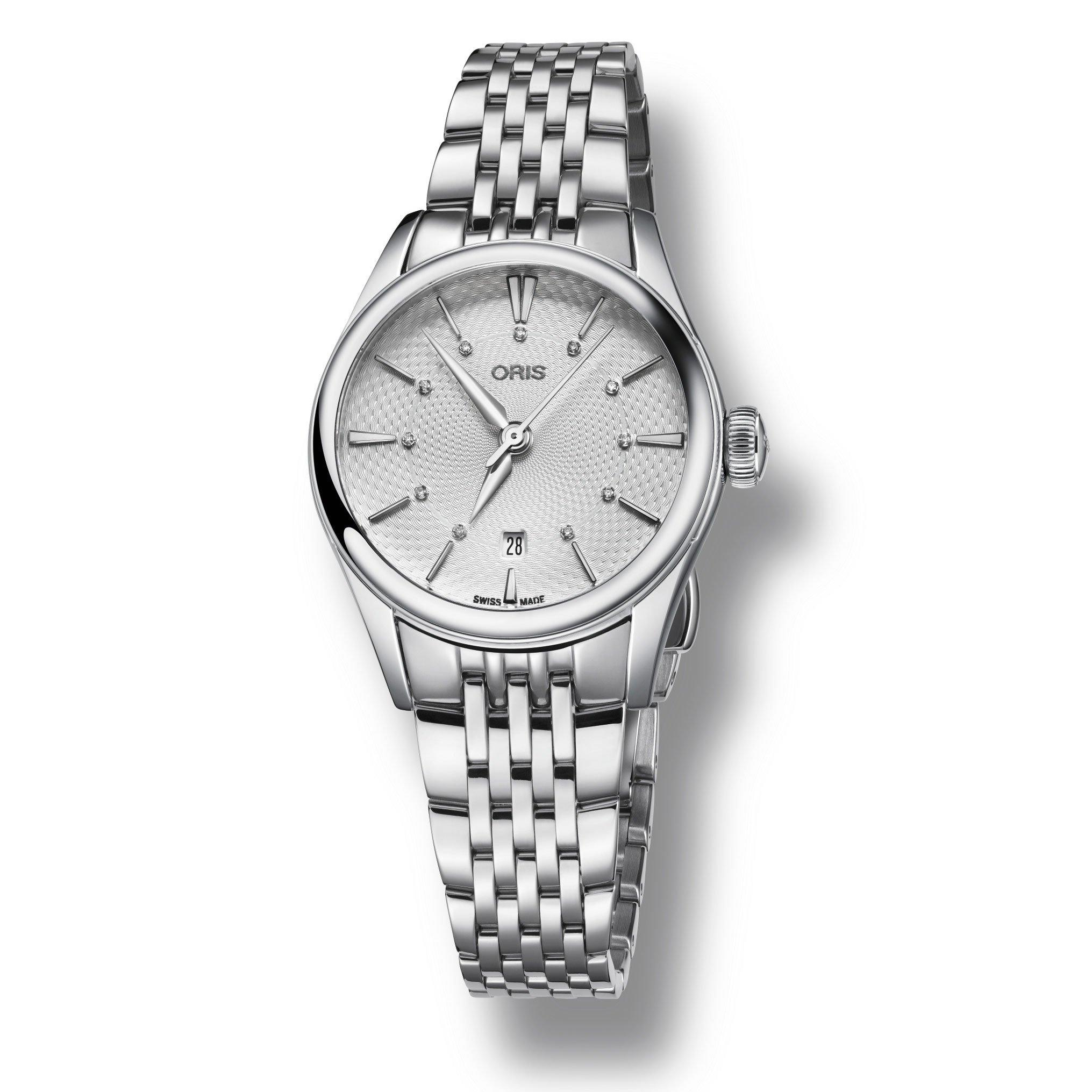 Oris Artelier Date Diamond Automatic Ladies Watch
