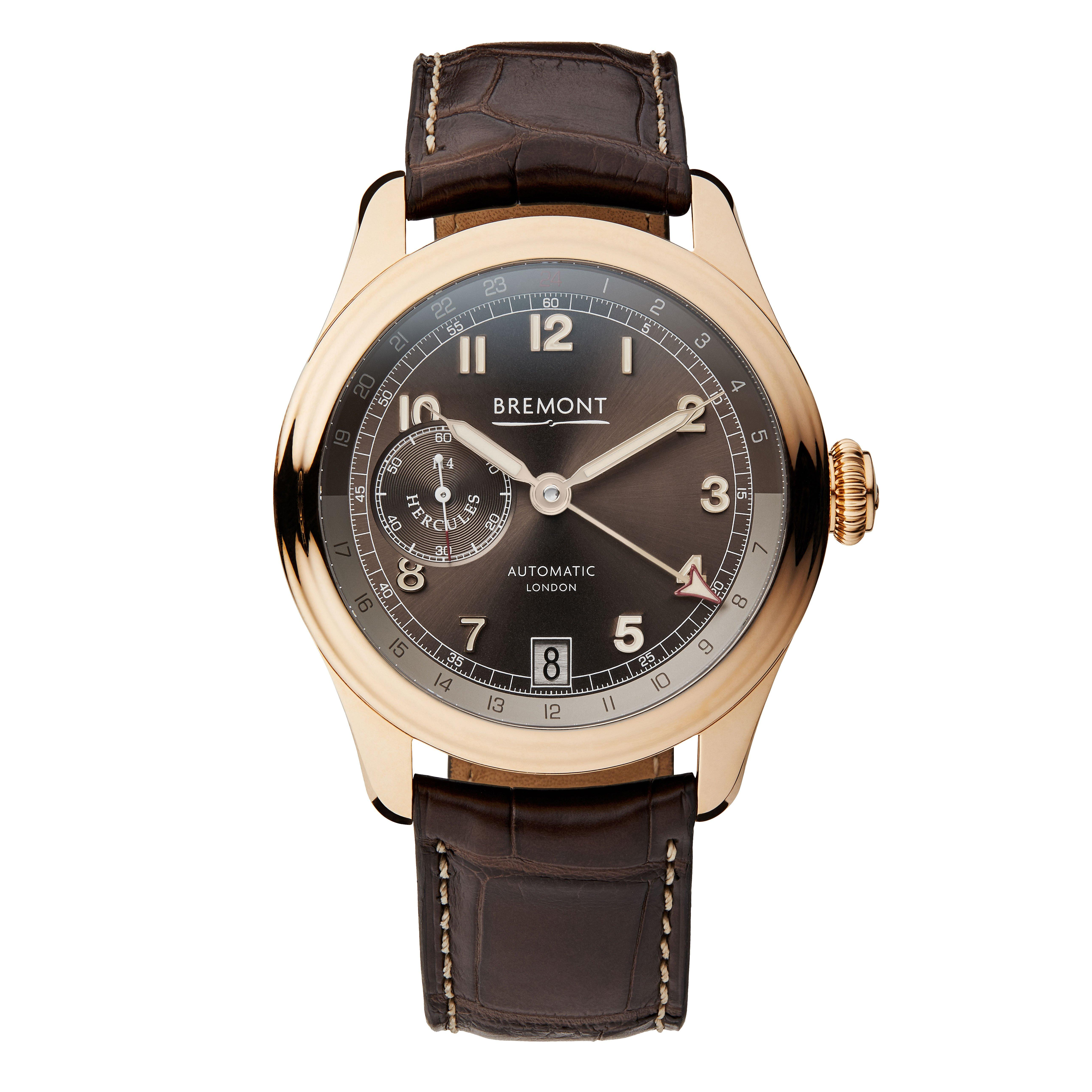 Bremont H-4 Hercules Limited Edition Rose Gold Automatic Men's Watch