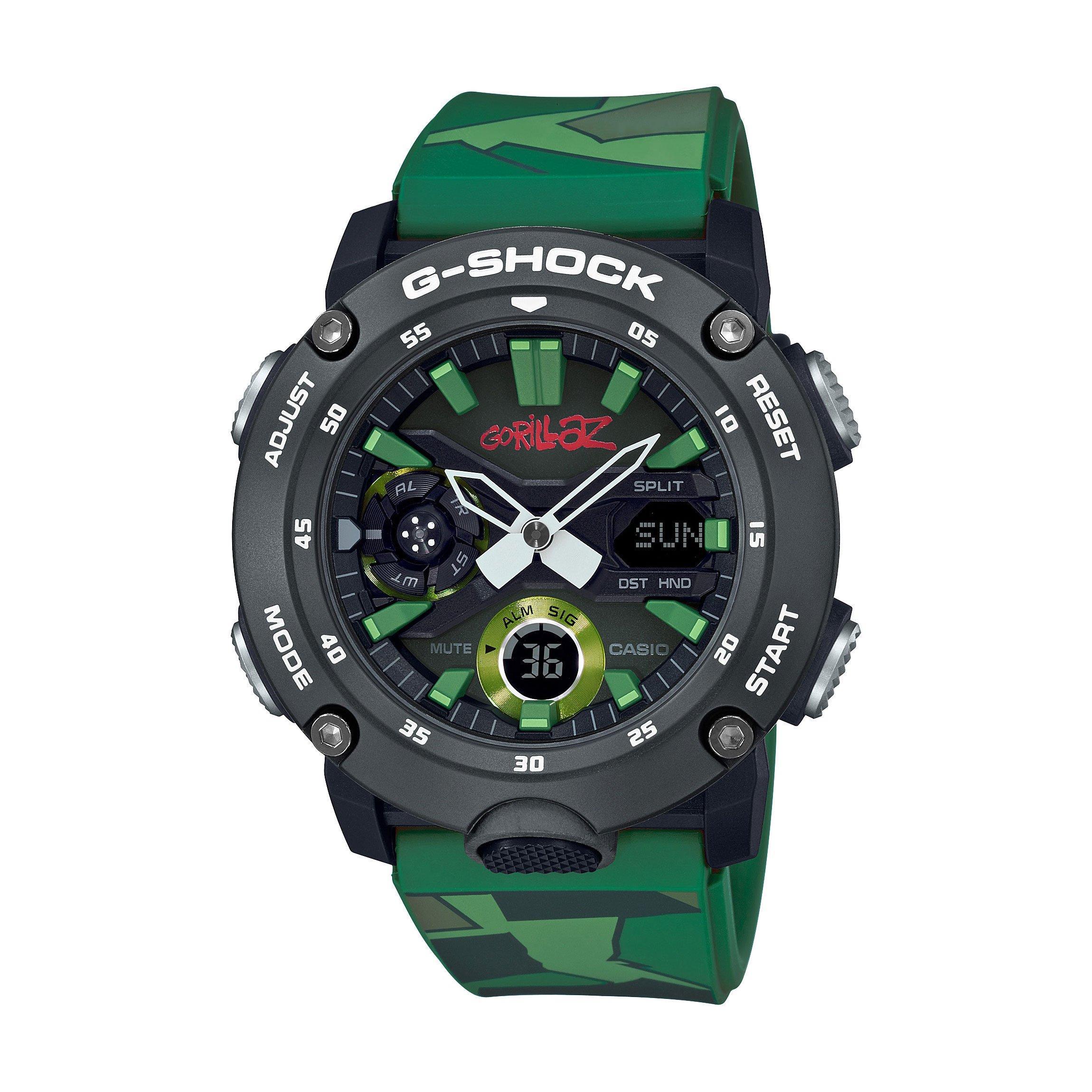 Casio G-Shock Gorillaz Camo Men's Watch