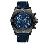Breitling Super Avenger Chronograph 48 Night Mission Automatic Men's Watch