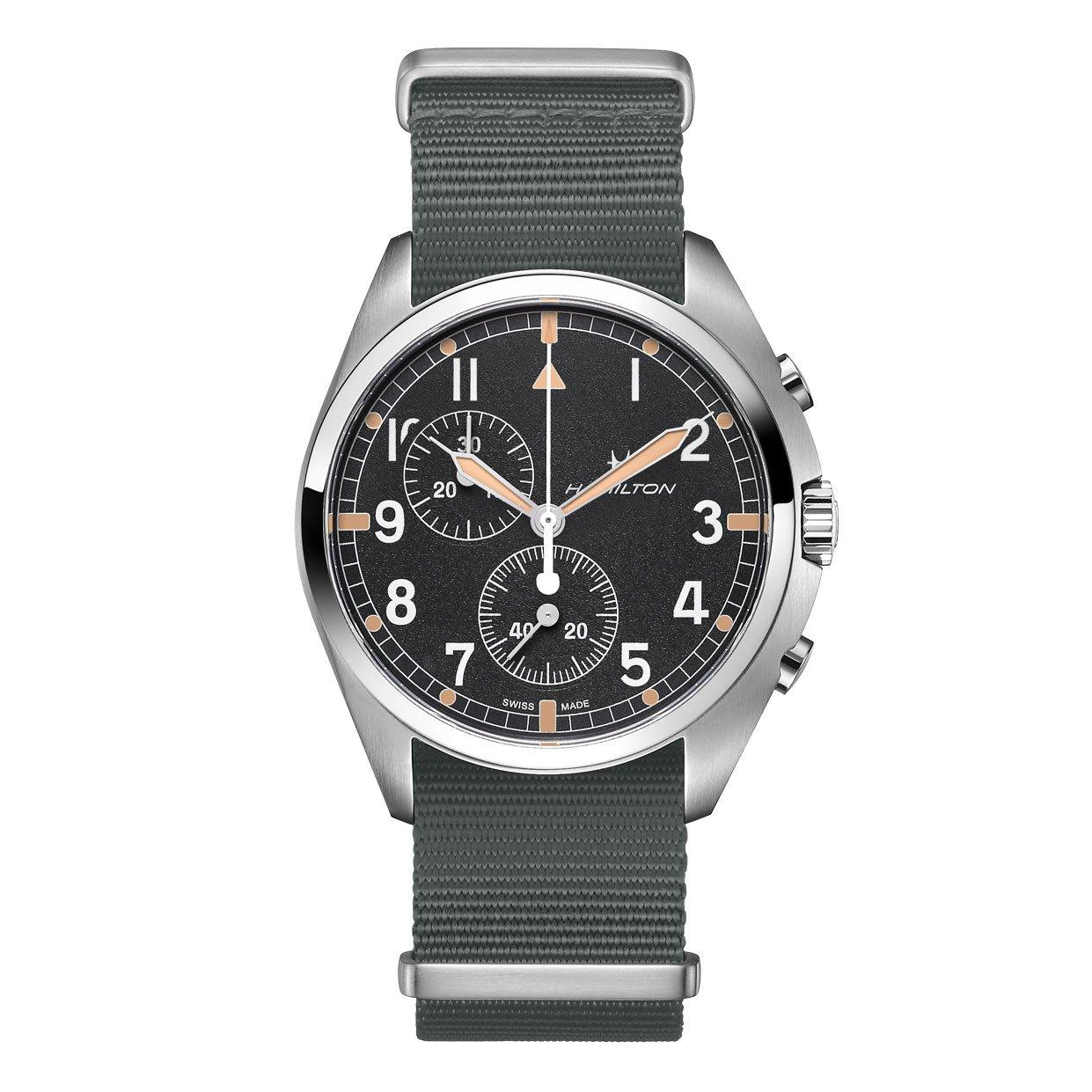 Hamilton Khaki Aviation Pilot Pioneer Chronograph Men's Watch