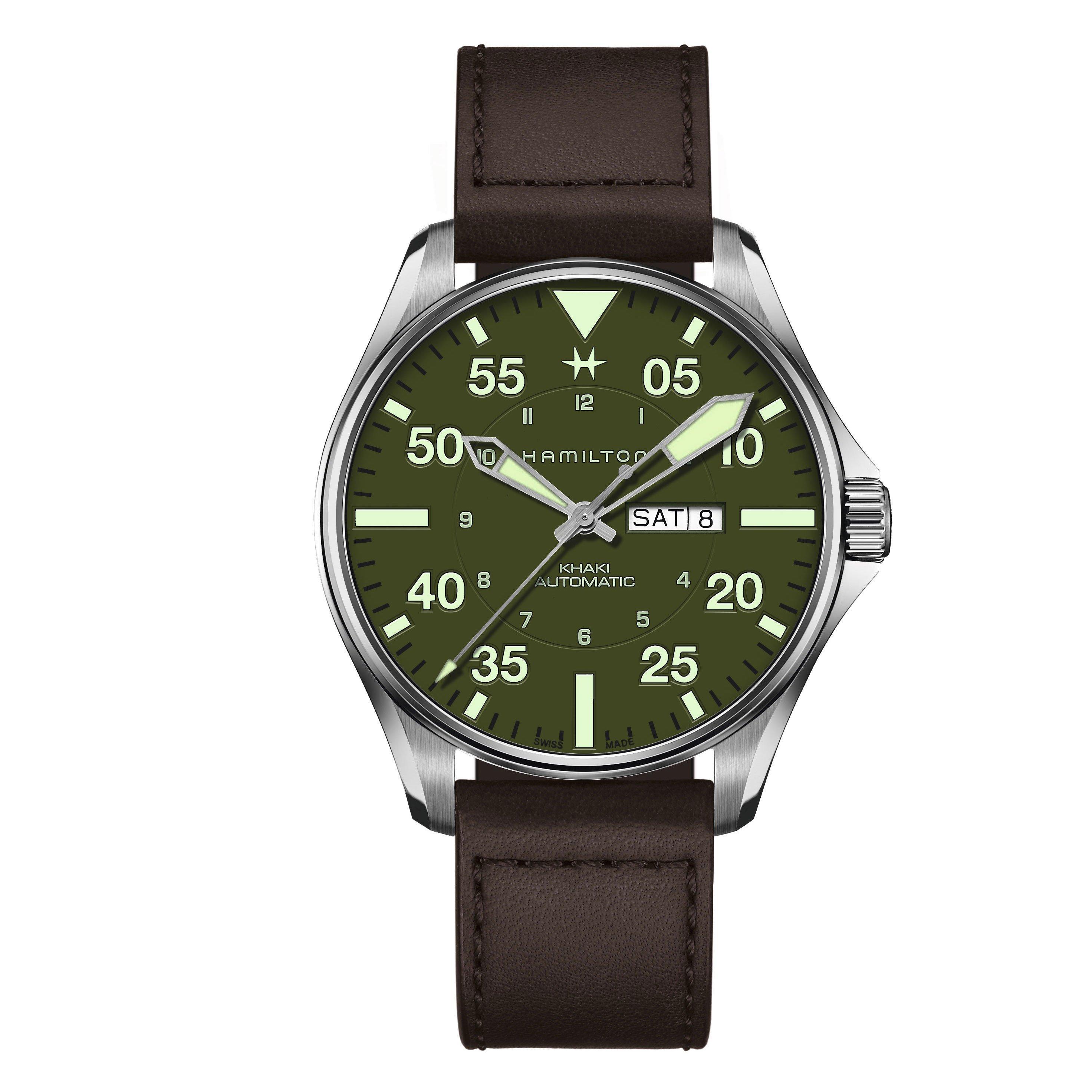 Hamilton Khaki Aviation Pilot Schott NYC Limited Edition Automatic Men's Watch
