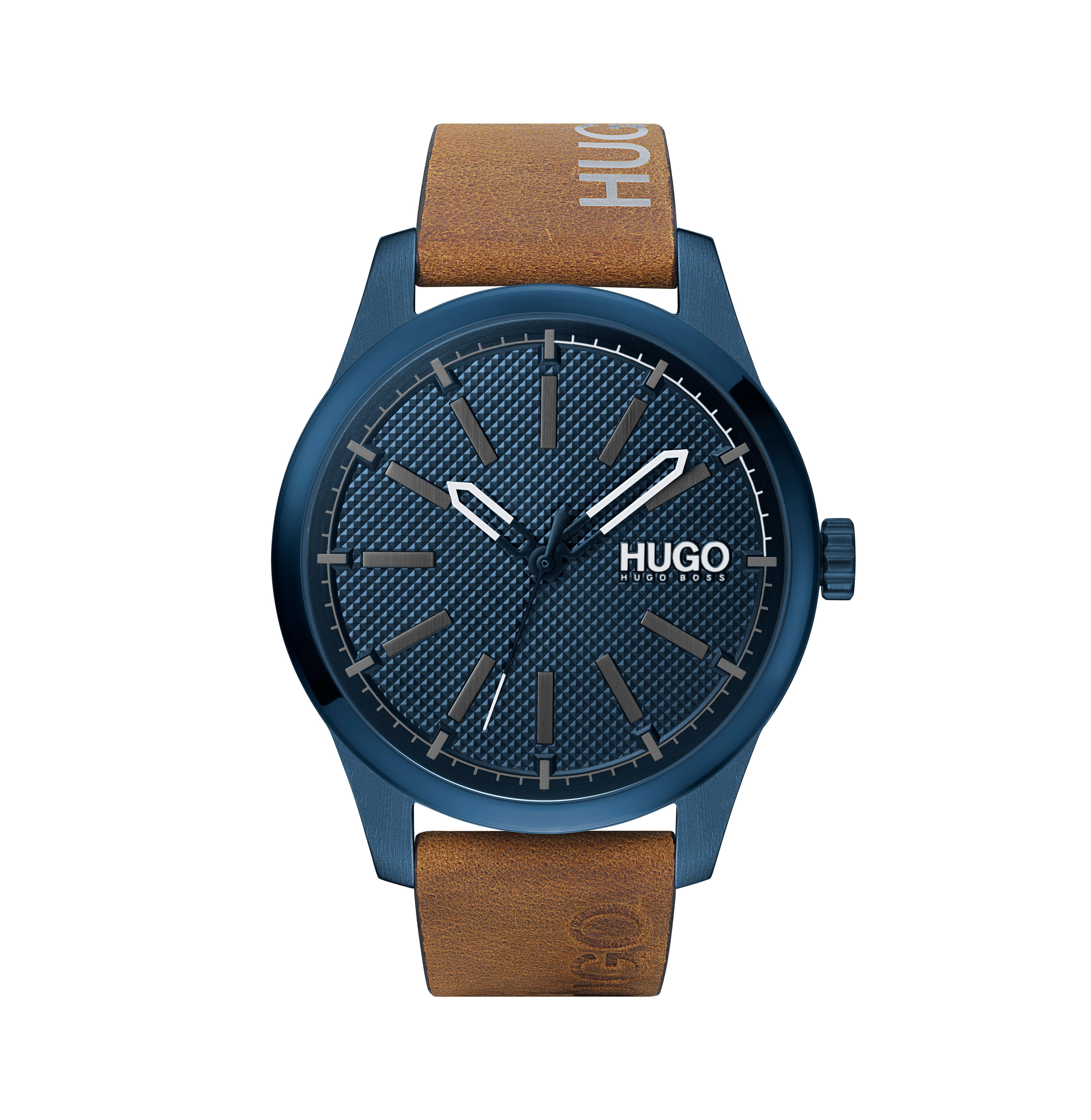 HUGO Invent Blue Men's Watch