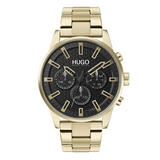 HUGO Seek Gold Tone Chronograph Men's Watch