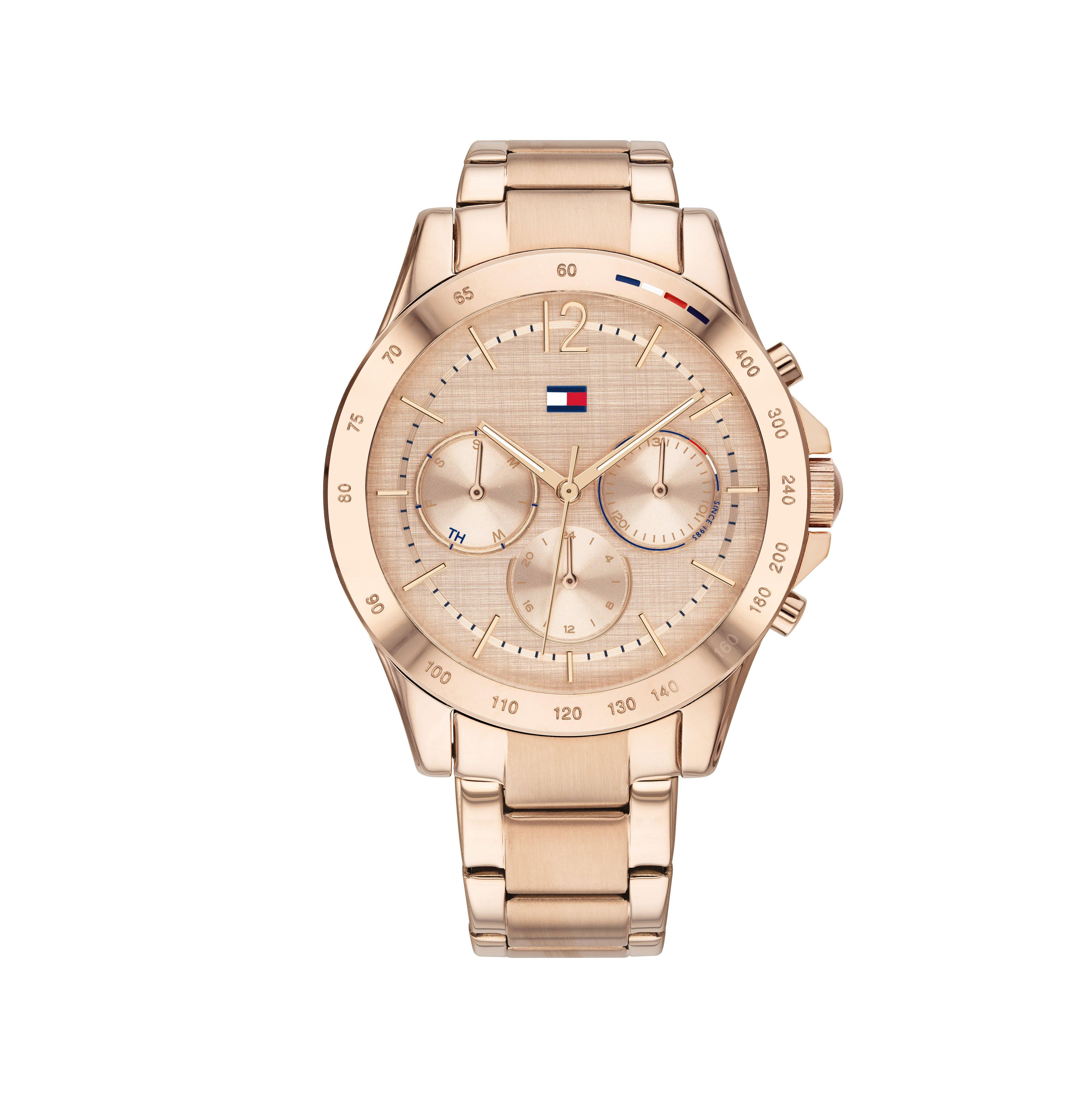 Tommy Hilfiger Haven Rose Gold Tone Chronograph Ladies Watch