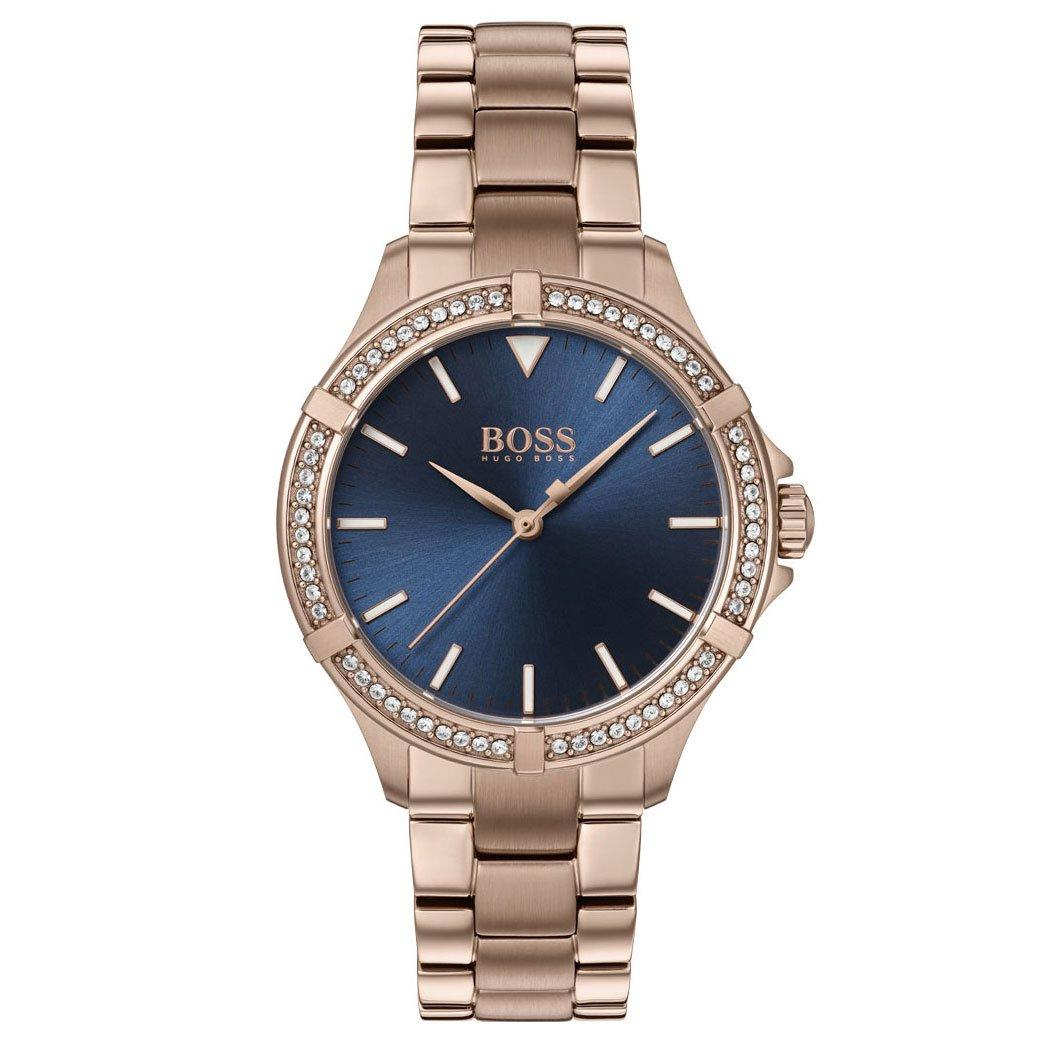 BOSS Mini Sport Rose Gold Tone Ladies Watch