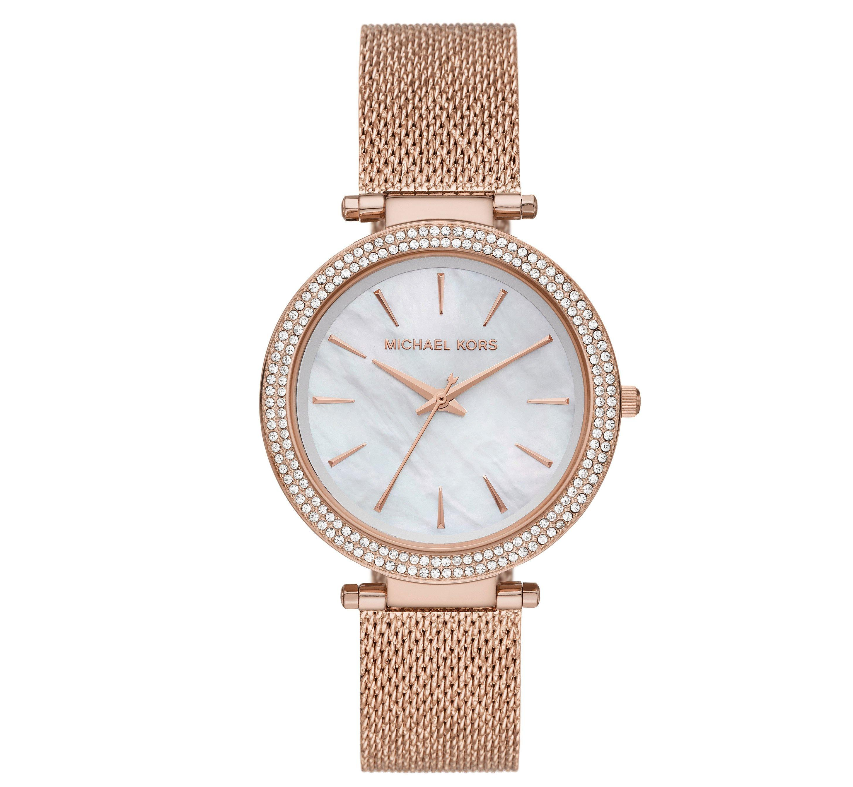 Michael Kors Darci Rose Gold Tone Ladies Watch