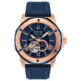 Bulova Marine Star Rose Gold Plated Automatic Men's Watch